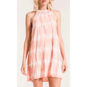 Peach Sherbert Swing Dress